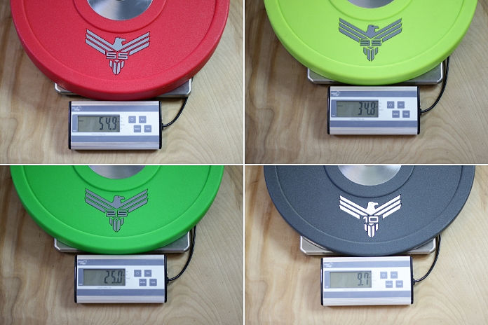 Vulcan Bumper Plates Urethane Accuracy - Garage Gym Lab