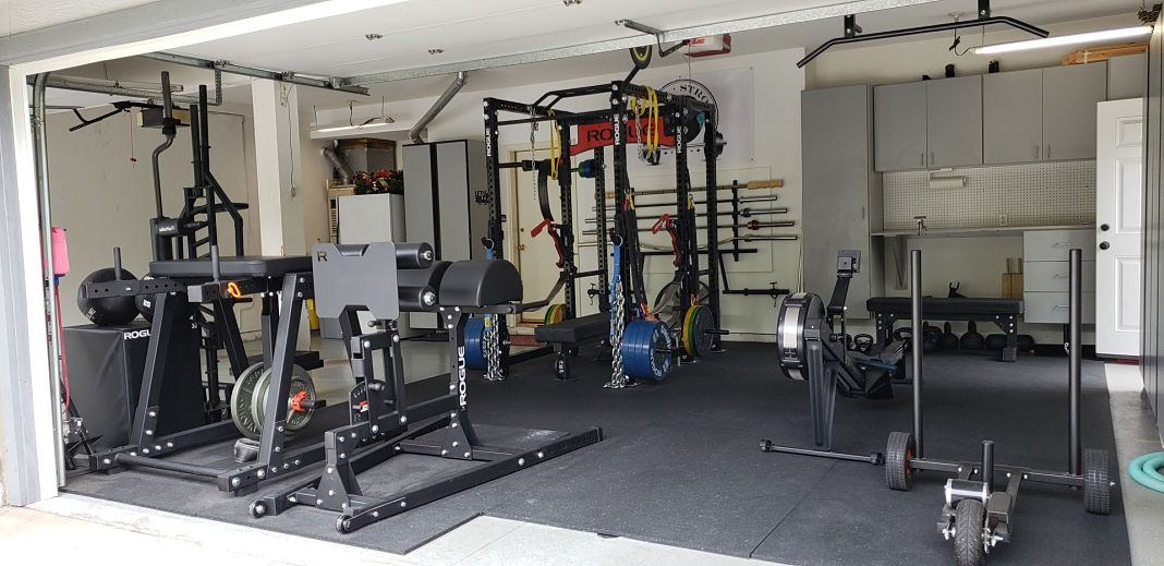 Garage gym accessories