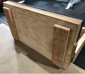 Adjustable Pulling Block 4 - Garage Gym Lab