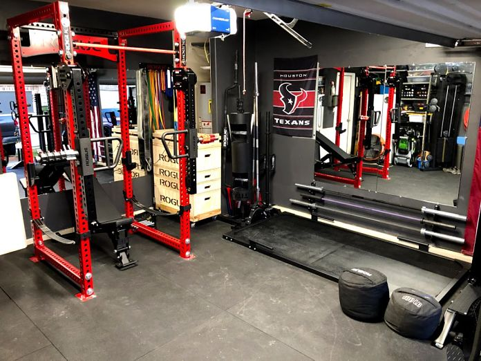 Step into matt michelle s incredible garage gym garage