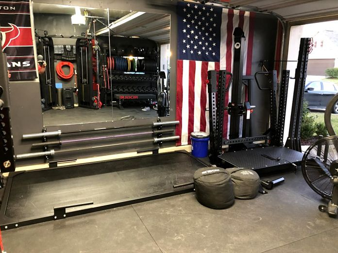 Step into matt michelle s incredible garage gym garage gym lab
