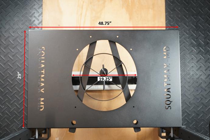 Squatmax Measurements - Garage Gym Lab