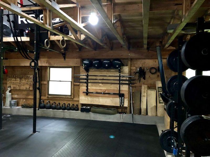 Step into brian s amazing crossfit barn gym garage gym lab