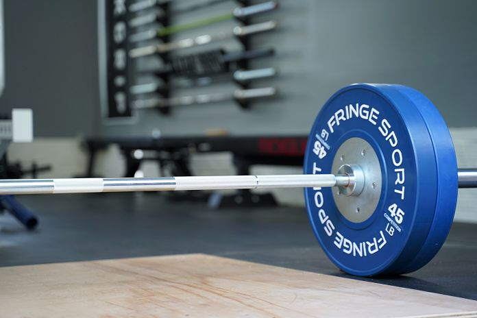 Fringe Sport Lone Star Power Bar - Deadlift Loaded - Garage Gym Lab