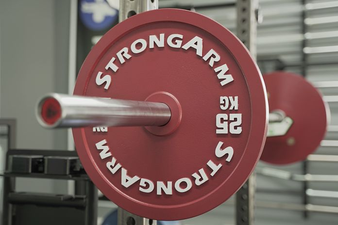 StrongArm Sport Calibrated Plate - 25 KG Angle - Garage Gym Lab