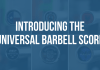 Universal Barbell Score - Garage Gym Lab