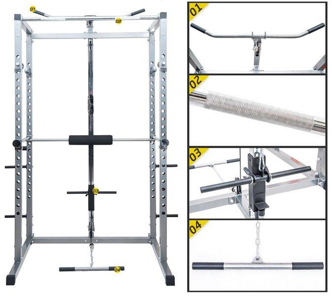 merax athletics fitness power rack