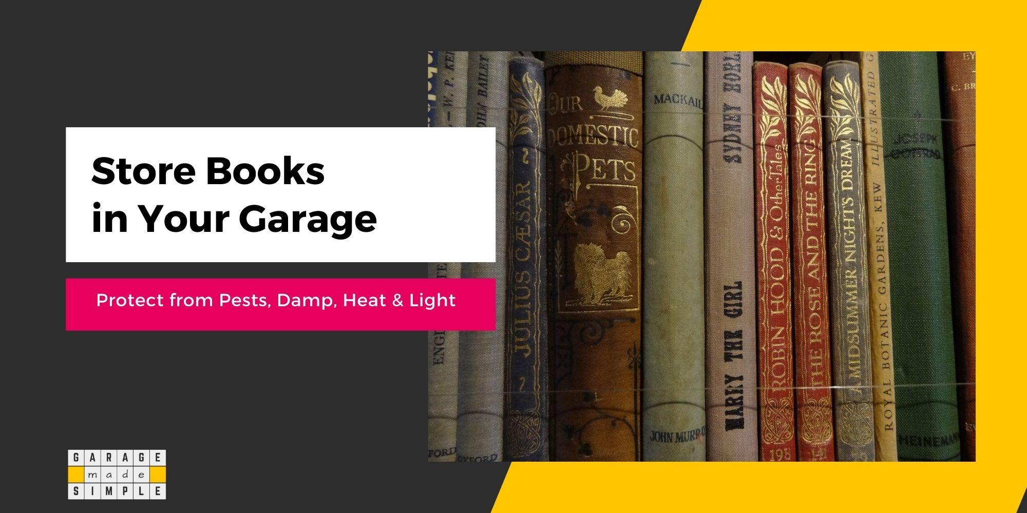 How To Store Books In Your Garage The Right Way!