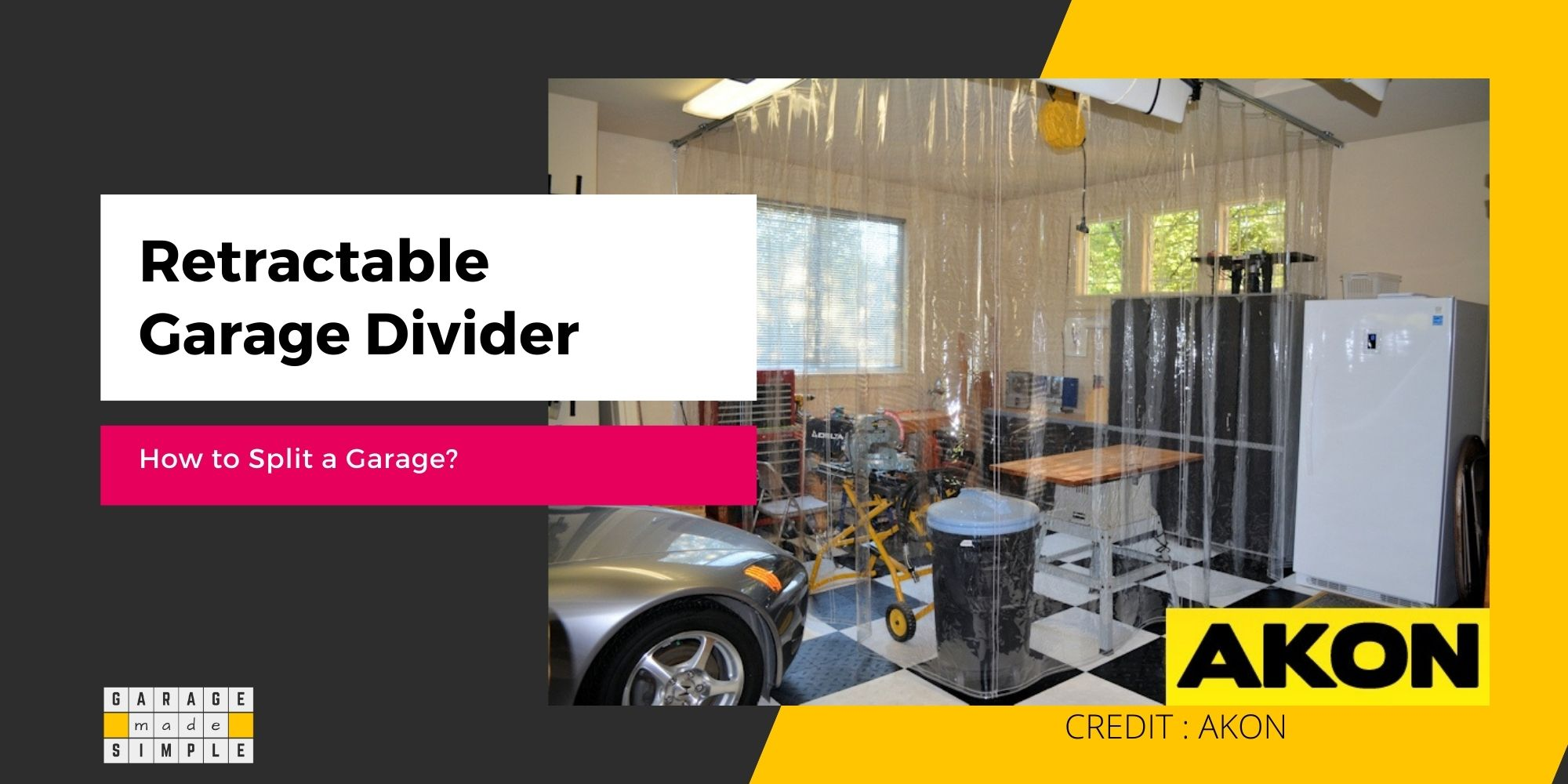 Retractable Garage Divider (How To Make It Work For You)