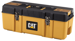 CAT Tool Storage Premium Plastic Portable Tool Box
