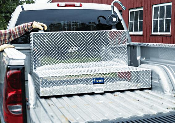L-shaped Truck Tool Box