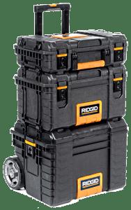 RIDGID Professional Tool Storage Cart & Organizer Stack