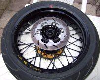 Yamaha WR250R Supermoto Radsatz: Hinterrad, Bremsscheibe