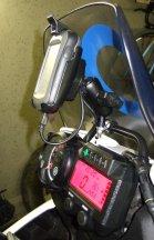 GPS montiert und verkabelt