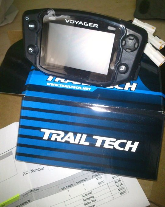 Trail-Tech Voyager Update