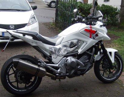 Honda NC700X Seitenansicht
