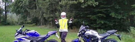 Erste gemeinsame Motorradausfahrt