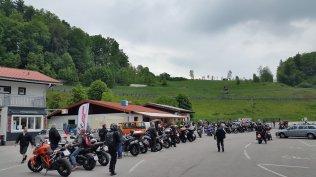 Motorrad Fahrsicherheitstraining Salzburgring Ankunft