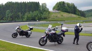 Motorrad Fahrsicherheitstraining Salzburgring Streckeninstruktion