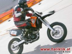 Supermototraining beim KTM Fest 2003