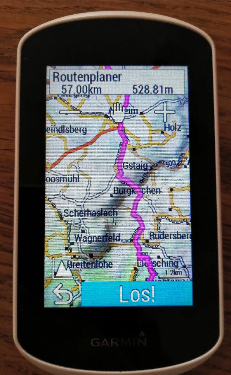 Routingvergleich Openfietsmap - Velomap - Garmin Cycle Map