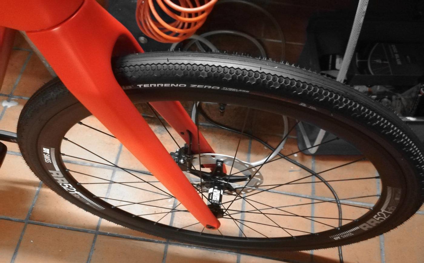 Eigenbau Radsatz fürs BMC Alpenchallenge Amp
