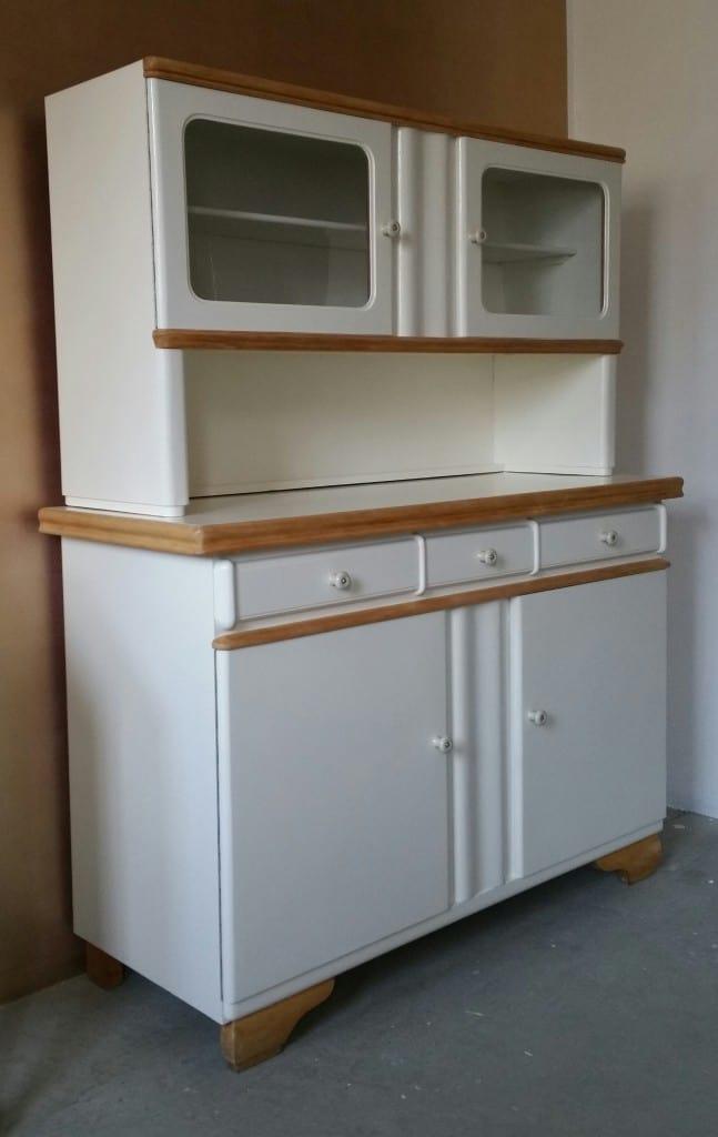 alter Küchenschrank, Küchenbuffet 50er Jahre - Garagenmoebel Küchenbuffet, alte