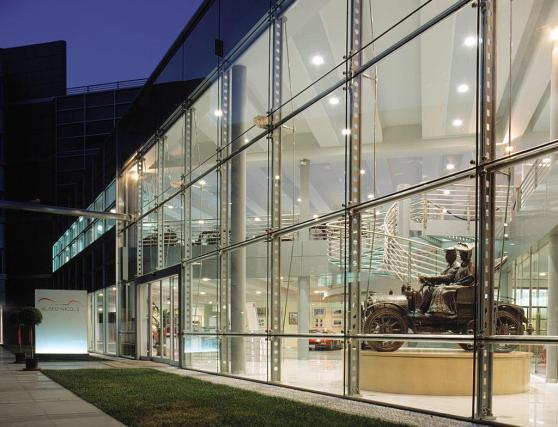 Museo Nicolis, exterior by night, ph. Raso