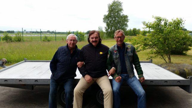 Willi, Harry und Reinhard