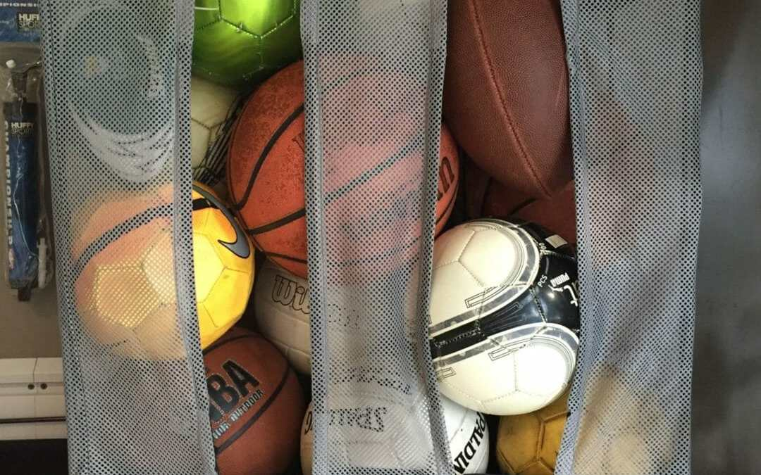 Sports Equipment Storage  –  Garage Organization Solutions