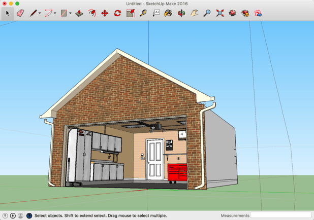 Design your garage layout or any other project in 3d for for Free garage design software