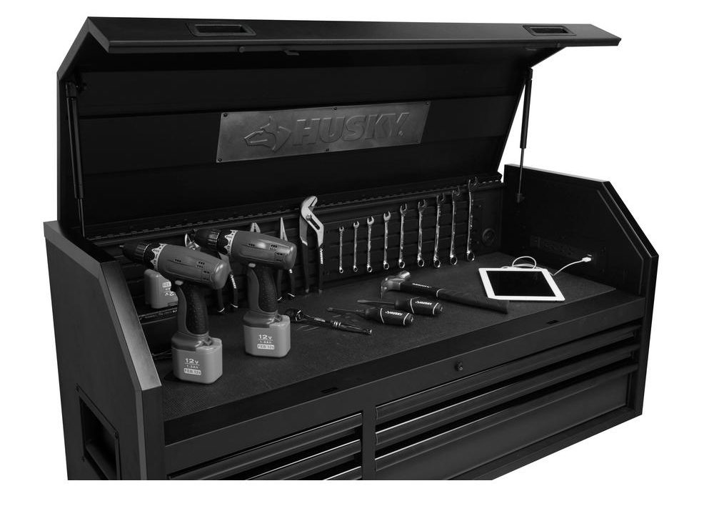 The New Husky Tool Chest, Rolling Cabinet & Workbench Combos ...
