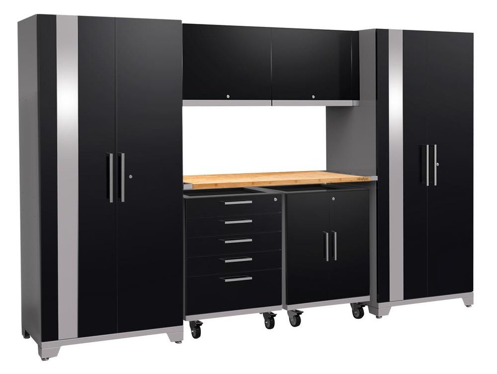 ... Cabinets, Buts Itu0027s The Integrated Featuresu2014like The Built In Top Tray  With Heavy Duty Rubber Liner And Tool Tray Spacersu2014that Make The NewAge  Cabinets ...
