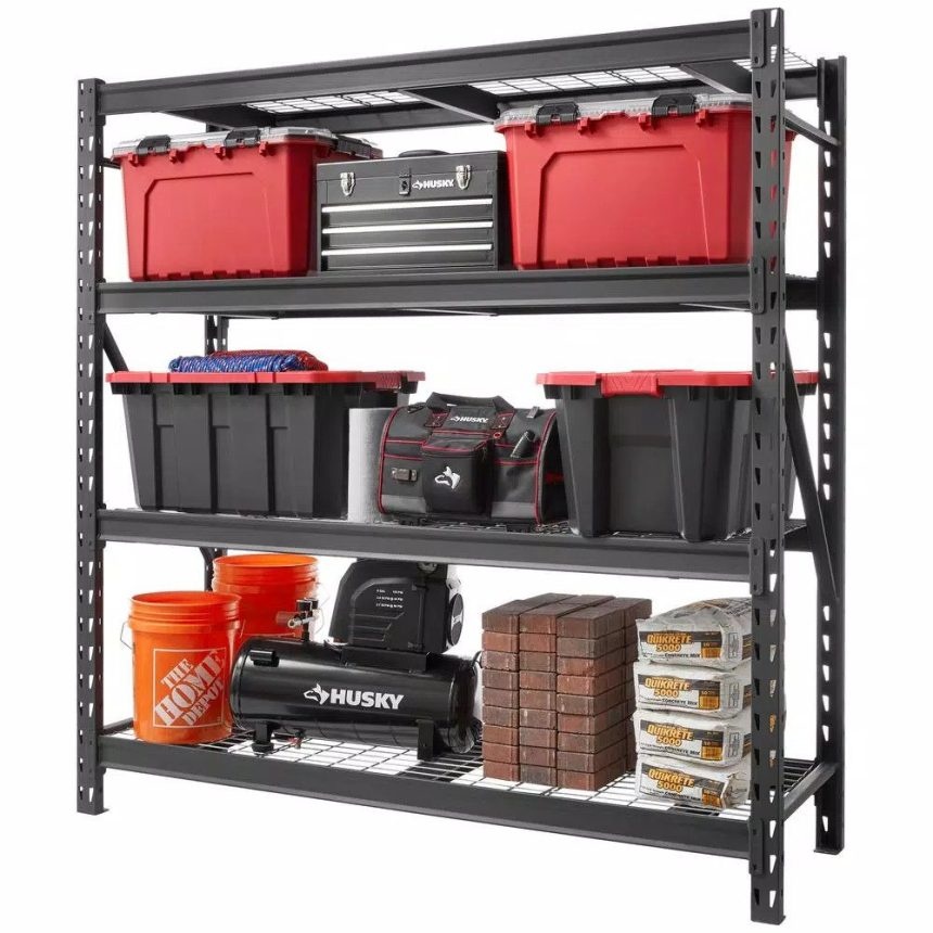 7 best garage shelving units for