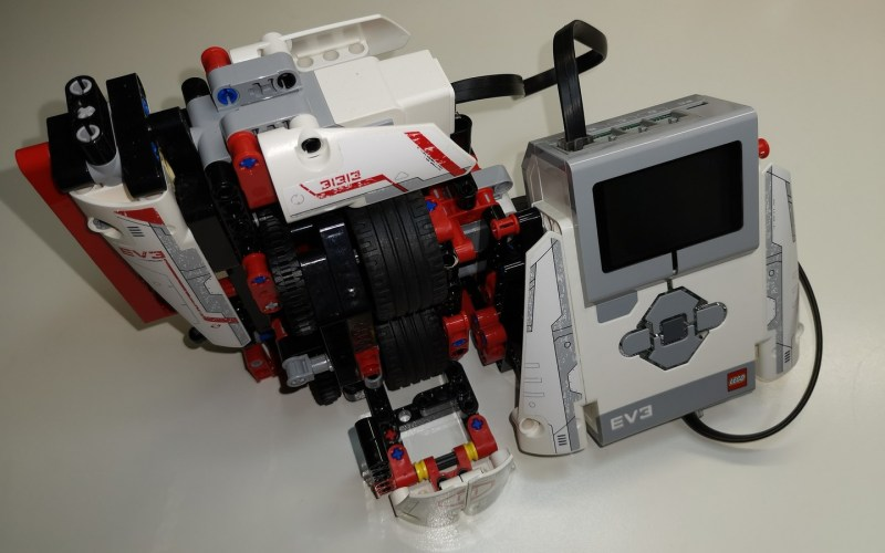 LEGO EV3 DNA Scanner