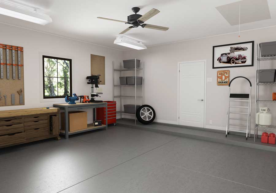 Design Your Dream Garage With These Garage Paint Color ... on Garage Color Ideas  id=50802