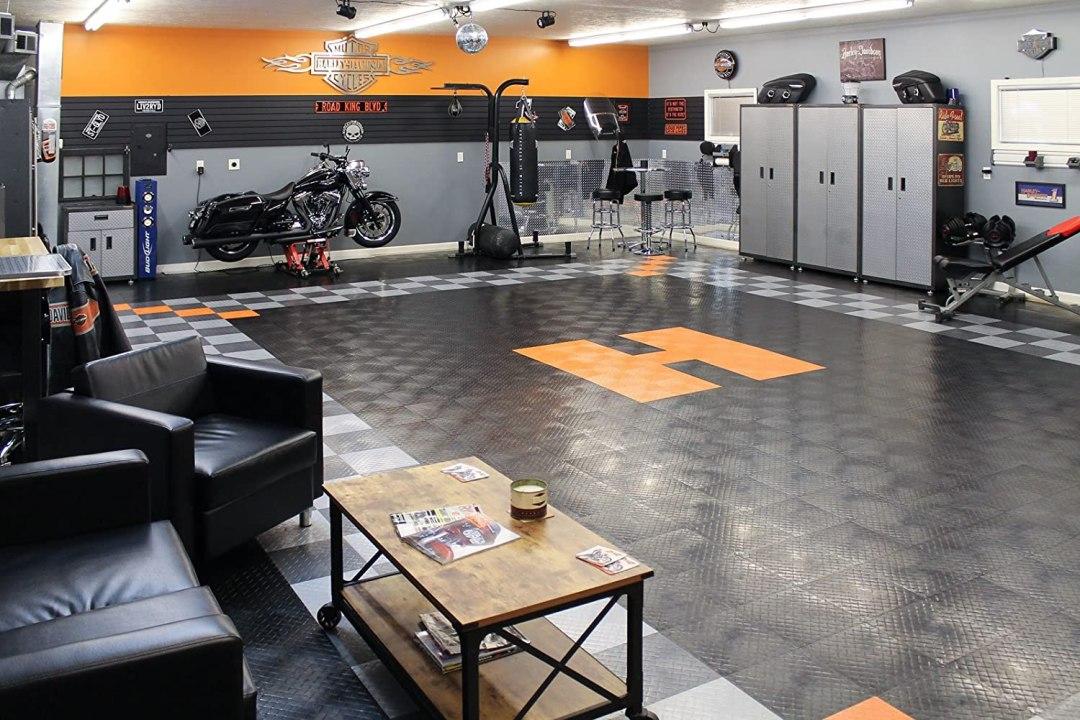 interlocking garage tiles
