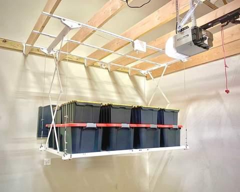 Retractable Storage Lift