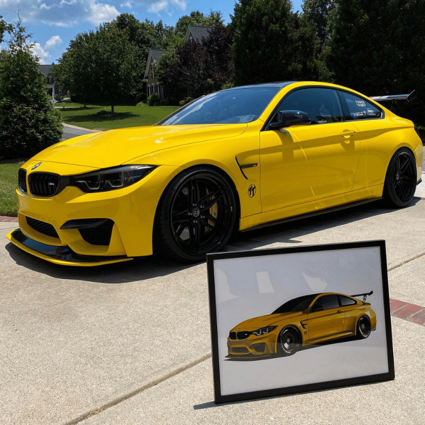 Custom Car Artwork