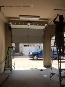 Maintain a garage door