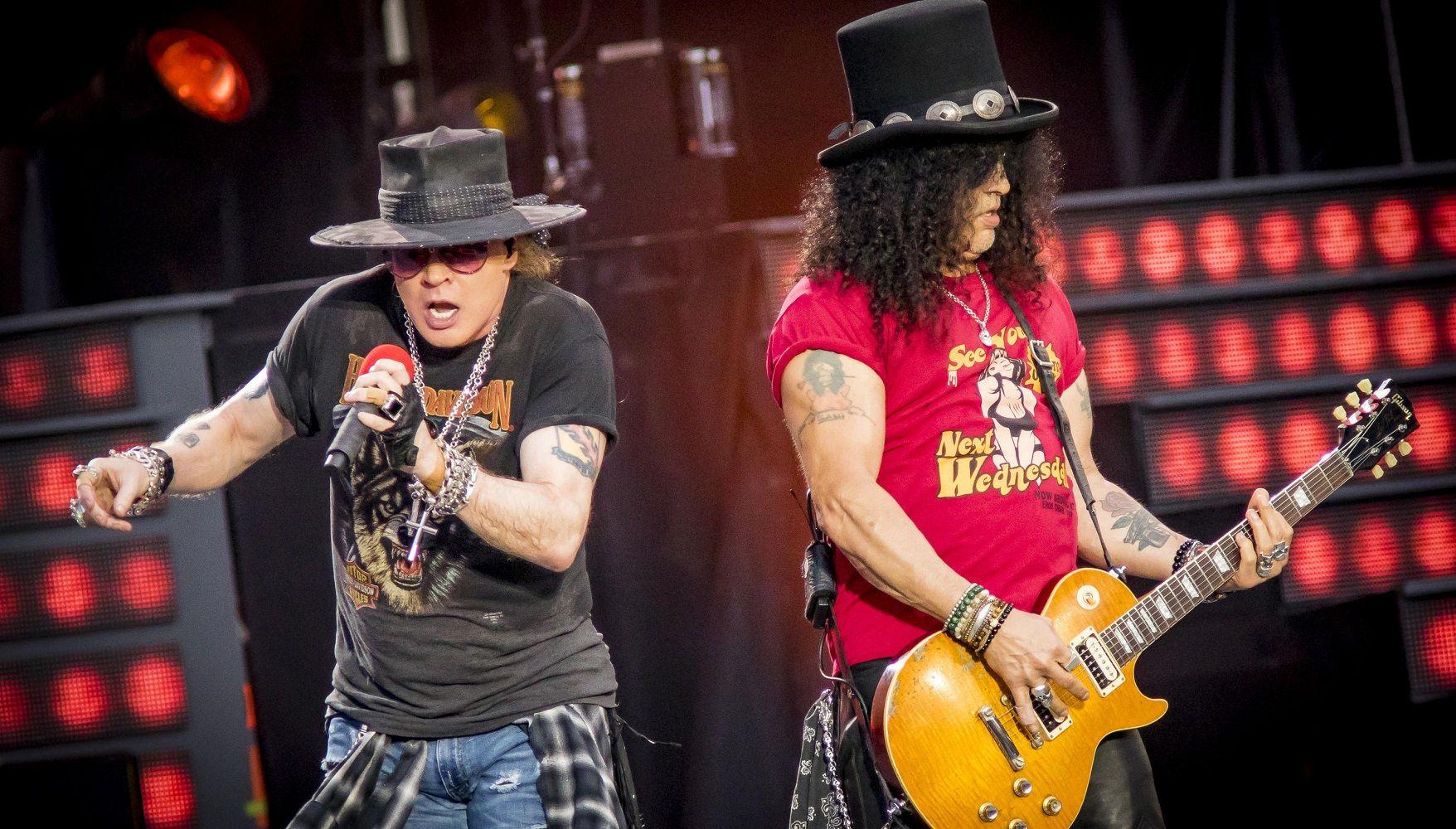 Slash revela cómo avanza el nuevo disco de Guns N' Roses