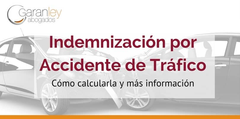 Calcular indemnización por accidente de tráfico