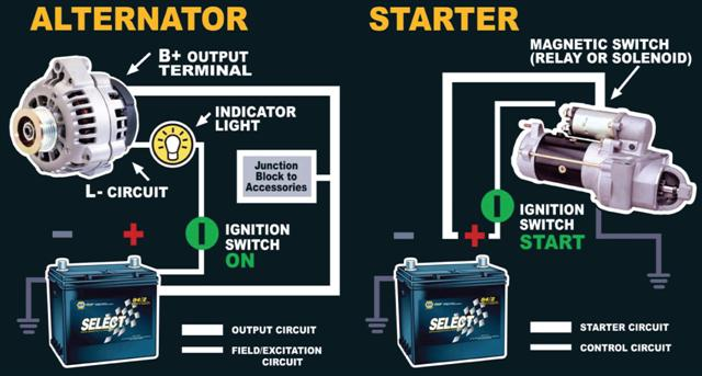 How to tell if alternator or Battery