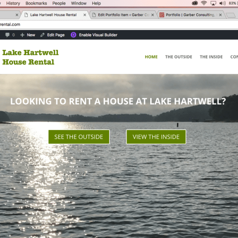 Lake Hartwell House Rental