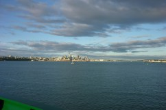 Auckland from offshore