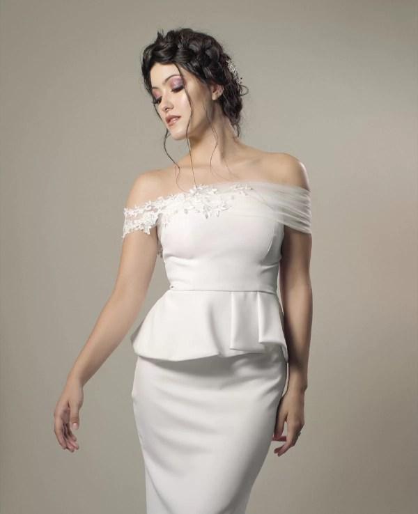 hermoso vestido para boda