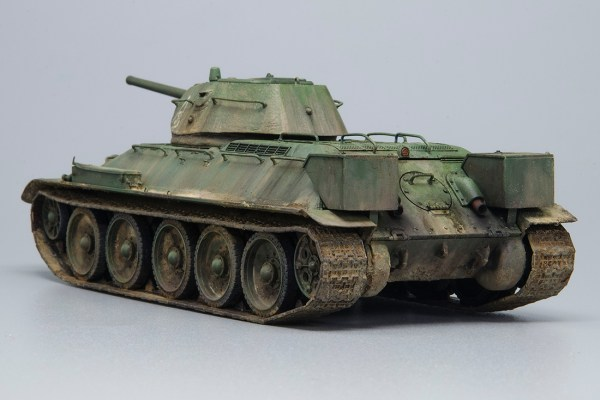 T-34/76 Model 1941 – Joaquín García Gazquez – A Modelling View