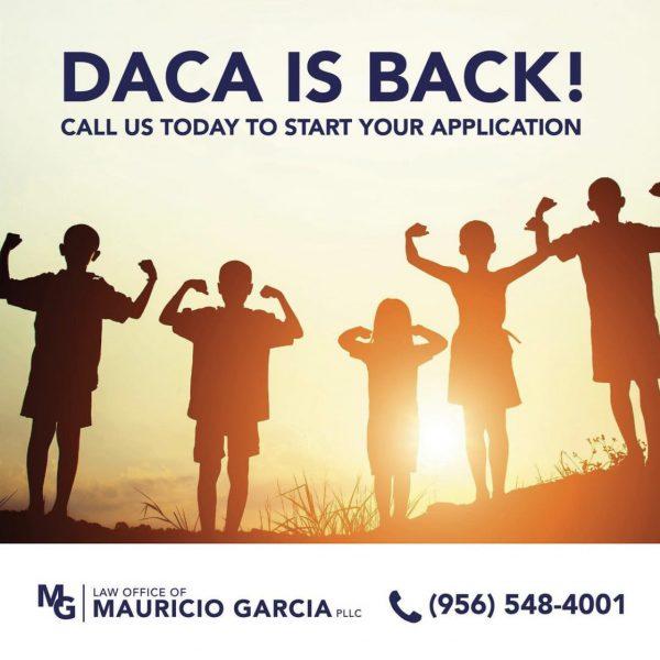 DACA IS BACK!