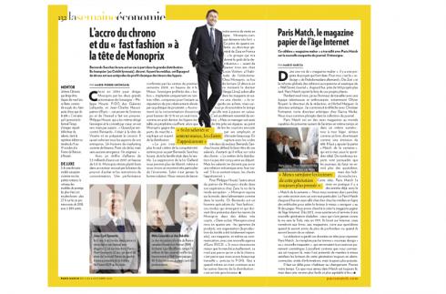 Besides being harry styles' personal tour photographer,. Sunday Sequel Magazine Vs Newspaper Design Paris Match Case Study Garcia Media
