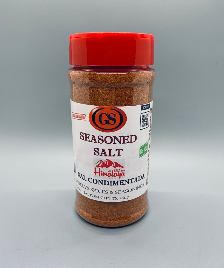 seasoned salt, garcia spices in Haltom City, Fort Worth, seasoning, grilling, meat, mexican spices.